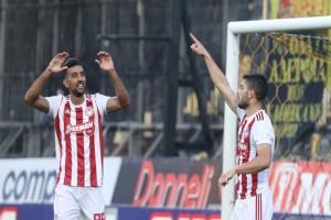 Super League 1 Play Offs, Άρης-Ολυμπιακός 2-4: Αήττητος ο Ολυμπιακός