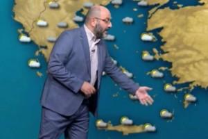 Προσοχή! «Καμπανάκι» του Σάκη Αρναούτογλου για τον καιρό μέχρι και τις 21 Ιουλίου