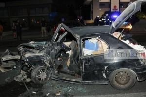 Ηράκλειο: Φρικτό τροχαίο με ένα νεκρό και τραυματίες - Σμπαράλια τα ΙΧ (photos+video)