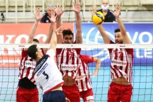 "Volley League: ""Καθάρισε"" ο Ολυμπιακός - 3-0 απέναντι στο Φοίνικα Σύρου"