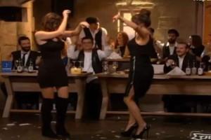 """Μελαχρινές καλλονές χορεύουν τσιφτετέλι και """"βάζουν φωτιά"""" στην πίστα"""