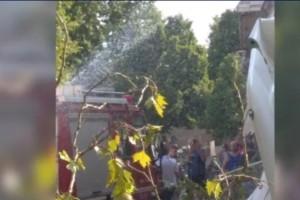 Πτώση αεροπλάνου σε χωριό των Σερρών (video+photo)