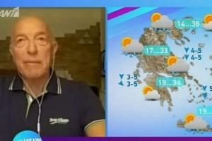 «Τελείωσε το κακό... Οι βροχές θα περιοριστούν...» - Η πρόβλεψη του Τάσου Αρνιακού για την εξέλιξη του καιρού (Video)