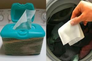 Έβαλε ένα μωρομάντηλο στο πλυντήριο - Μόλις τελείωσε η πλύση...