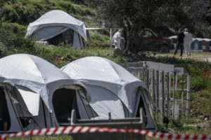 Συναγερμός στη Λέσβο: Θετικοί στον κορωνοϊό 17 μετανάστες