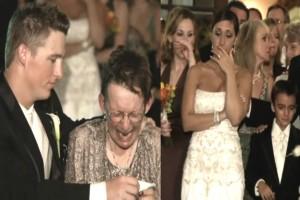 Ανάπηρη μητέρα δεν μπορεί να χορέψει στο γάμο του γιου της - Τότε ο γαμπρός σηκώνεται και...