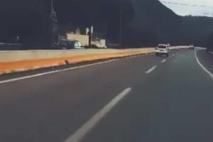 Κίνδυνος... θάνατος στη Λαμία: Οδηγός βρισκόταν στο αντίθετο ρεύμα με το 2χρονο εγγόνι του