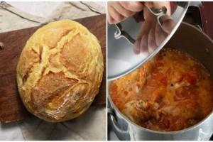 Έριξε μέσα στην κατσαρόλα με το φαγητό ένα κομμάτι ξερό ψωμί - Θα σας λύσει τα χέρια