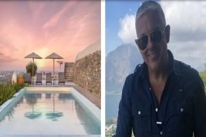 Τάσος Δούσης: Το ονειρικό συγκρότημα με βίλες που προτείνει στη Νάξο - Η βαθμολογία του αγγίζει το 9,1 στην Booking
