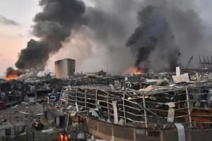 Έκρηξη στη Βηρυτό: Δήλωση-βόμβα από τον πρόεδρο του Λιβάνου