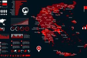 Κορωνοϊός: «Έκρηξη» κρουσμάτων στην Αττική - Ο «χάρτης» της διασποράς