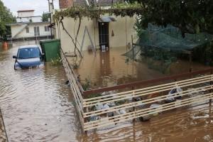 """O """"Ιανός"""" τα διέλυσε όλα: Πάνω από 210.000 στρέμματα κάτω από το νερό στον θεσσαλικό κάμπο"""