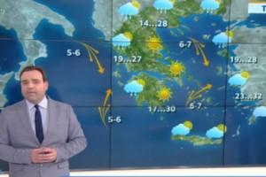 Κλέαρχος Μαρουσάκης: Ανατροπή στον καιρό - Τι μας περιμένει;