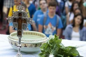 Στις 15 Σεπτεμβρίου ζητά η Εκκλησία να γίνει ο αγιασμός στα σχολεία