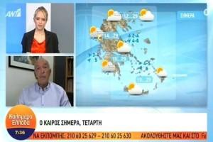 «Έχουμε μπει για τα καλά στο φθινόπωρο - Προσοχή για τις καταιγίδες στα…» - Προειδοποιεί για τον καιρό ο Τάσος Αρνιακός