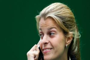 «Έσκασε» επιτέλους χαμόγελο η Αθηνά Ωνάση - Το γεγονός που την έκανε να λάμπει