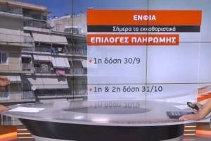 Ώρα πληρωμής για τον ΕΝΦΙΑ - Ποιοι απαλλάσσονται (Video)