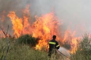 Μεγάλη φωτιά στην Κάρπαθο