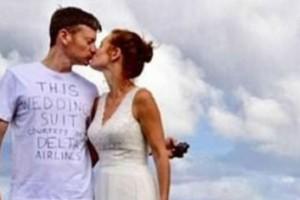 """Αυτός ο γαμπρός εμφανίστηκε στο γάμο με την πιο...προκλητική εμφάνιση - Μόλις αποκάλυψε το λόγο όλοι """"πάγωσαν"""""""