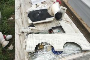 Εικόνες βιβλικής καταστροφής στην Ηλεία από το πέρασμα της κακοκαιρίας