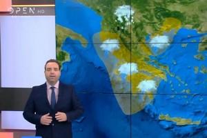 Έκτακτη ανακοίνωση από τον Κλέαρχο Μαρουσάκη: «Διαδοχικά κύματα κακοκαιρίας ετοιμάζονται να «χτυπήσουν» τη χώρα» (photo-video)