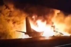Τραγωδία: Συντριβή αεροσκάφους στην Ουκρανία - Τουλάχιστον 18 οι νεκροί