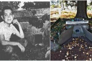 """Ο παιδικός τάφος με το σπασμένο παράθυρο - Η """"μαύρη"""" ιστορία που έκανε χιλιάδες ανθρώπους να δακρύσουν"""