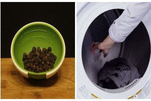 Βάζει τα ρούχα στο πλυντήριο και από πάνω τρίβει λίγο μαύρο πιπέρι - Θα τρέξετε να το κάνετε και εσείς