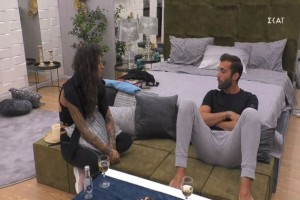 Big Brother: Ανακωχή για Ραμόνα και Δημήτρη Κεχαγιά - Η prive συζήτησή τους