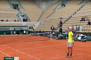 «Κάγκελο» οι τενίστες στο Roland Garros - Πως έζησαν τον κρότο «έκρηξης» στο Παρίσι (Video)