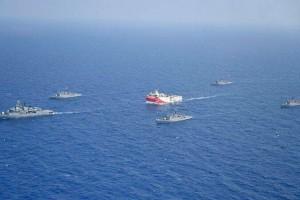 Συναγερμός στο Αιγαίο: Μυστήριο με τις κινήσεις του Oruc Reis