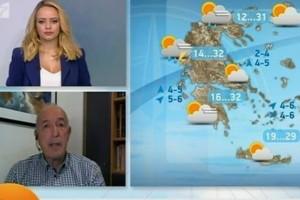 «Άσπρο-μαύρο ο καιρός» - Προειδοποίηση του Τάσου Αρνιακού (Video)