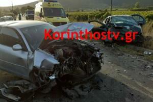 Φρικτό τροχαίο στη Νεμέα: Ένας νεκρός και 8 τραυματίες (photo)