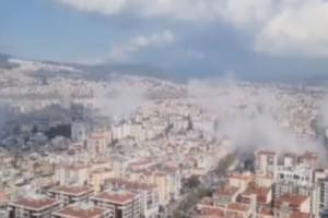 Βίντεο σοκ από την Σμύρνη την ώρα του σεισμού στην Σάμο!