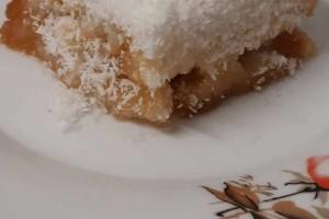 Γλυκό ψυγείου με καρύδα