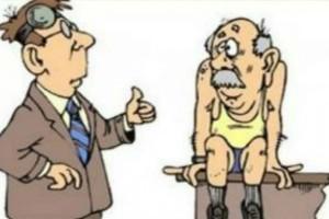 Ένας 85αρης παππούς πηγαίνει στο γιατρό: Το ανέκδοτο της ημέρας 19/10