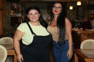 Big Brother: Η πρώτη δημόσια έξοδος της Χριστίνας Ορφανίδου με την Αφροδίτη Γεροκωνσταντή