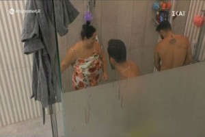 "Big Brother: Η ""εισβολή"" της Αφροδίτης στο μπάνιο"