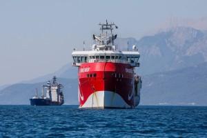 Γενί Σαφάκ: Επεκτείνεται η Navtex για το Oruc Reis - Κοντά σε Ρόδο και Κρήτη