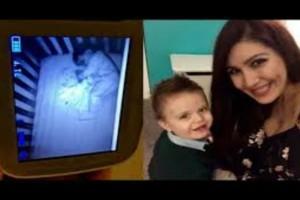 Έβαλε κρυφή κάμερα για να προσέχει το μωρό της - Μόλις είδε αυτό που βρισκόταν δίπλα του της κόπηκαν τα πόδια