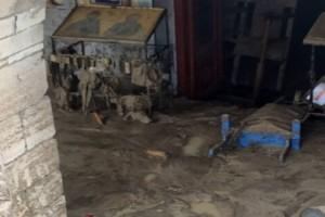 Κακοκαιρία στην Κρήτη - Βούλιαξε στη λάσπη το ξωκλήσι του Αγίου Ιωάννη στον Καρτερό (pics)
