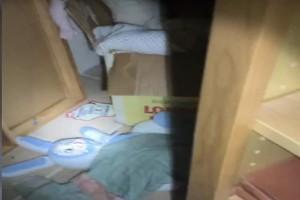 24χρονη βρήκε ένα κρυφό δωμάτιο στο σπίτι της - Θα ανατριχιάσετε με αυτό που κατέγραψε με την κάμερά της (Video)