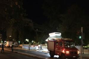 Έκρηξη από βραχυκύκλωμα στο Κολωνάκι - Ποιο δρόμοι έχουν κλείσει