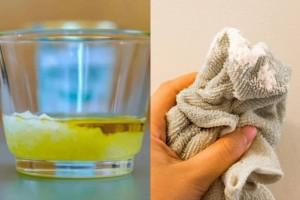 Έκανε μπάνιο βάζοντας ελαιόλαδο και μαγειρική σόδα στη σαπουνάδα της - Το αποτέλεσμα μια σκέτη μαγεία