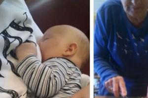 29χρονη μητέρα θήλαζε δημόσια το μωρό της - Τότε μια 72χρονη γιαγιά την πλησίασε, άρπαξε το μαχαίρι και..