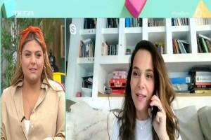 Ανησυχία στο «Πάμε Δανάη»: Θετική στον κορωνοϊό η Ελιάνα Χρυσικοπούλου (Video)
