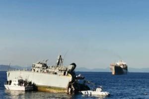 """Ξεκίνησε η επιχείρηση ρυμούλκησης του """"Καλλιστώ"""" - Απαγόρευση απόπλου για το εμπορικό πλοίο"""