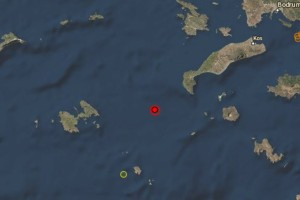 Σεισμός 4,8 Ρίχτερ στην Κω