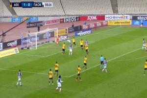 Super League: Χωρίς νικητή το ντέρμπι «δικεφάλων» - Ο ΠΑΟΚ «πάγωσε» στο 89′ την ΑΕΚ (Video)