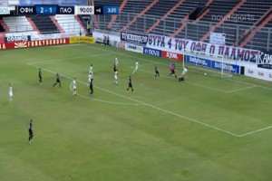 Super League: Σώθηκε στο 94' ο Παναθηναϊκός - Ματσάρα στο «Γεντί Κουλέ» (Video)